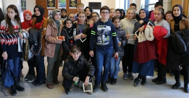 Misafir okul etkinlikleri Sapanca SGM'de devam etti
