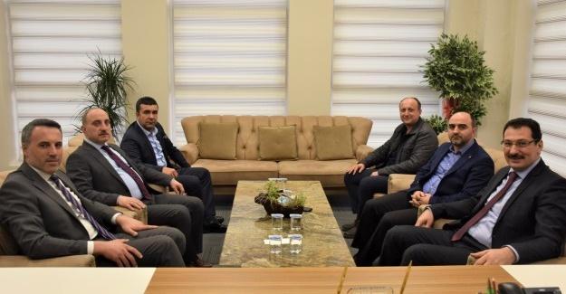 Yavuz ve Tever'den Başkan Kılıç'a ziyaret