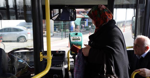 65 yaş üzeri ücretsiz ulaşım uygulaması durduruldu
