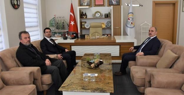 Başkan Kılıç'a kardeş belediyeden ziyaret