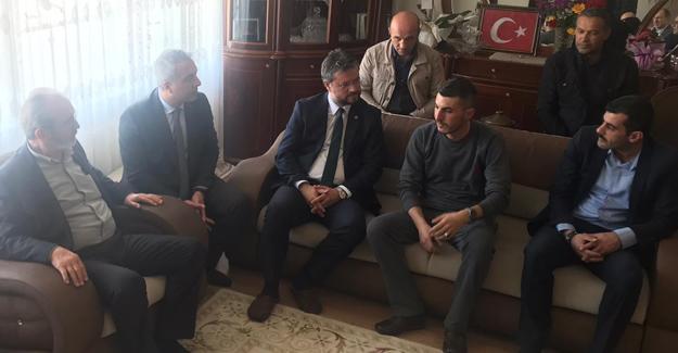 MHP'liler İdlib Gazisini ziyaret etti