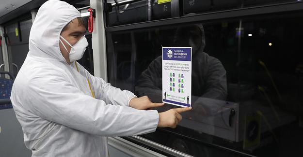 Toplu taşımada önlemler arttırıldı
