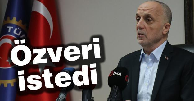 Türk-İş Genel Başkanı işverene seslendi