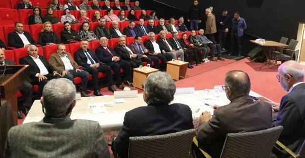 """Vali Nayir """"Deprem Duyarlılığı"""" paneline katıldı"""
