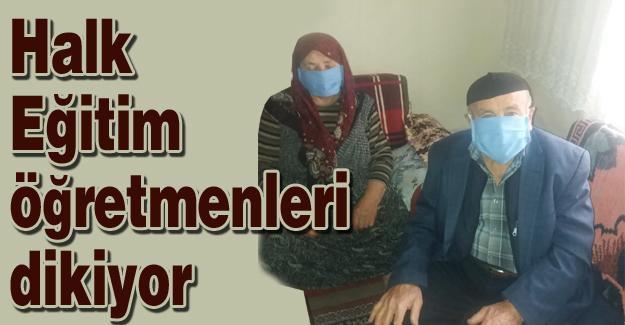 84 mahallede 2 bin 100 kişiye maske ulaştırıldı