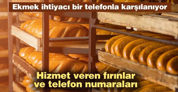 Ekmek ihtiyacı bir telefonla karşılanıyor