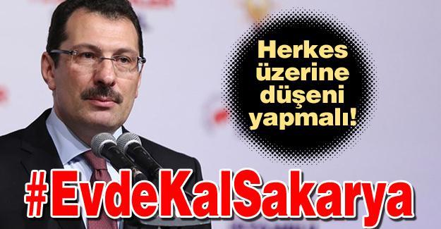 #EvdeKalSakarya