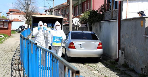 Karantina sokaklarına Büyükşehir desteği