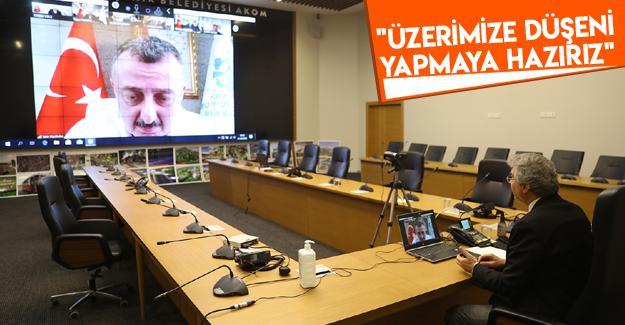 Marmara Belediyeler Birliği'nin Nisan ayı toplantısı yapıldı