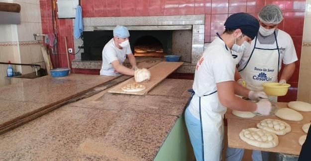 Serdivan'da fırınlara Ramazan denetimi