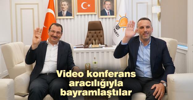 AK Parti Sakarya'da bayramlaşma