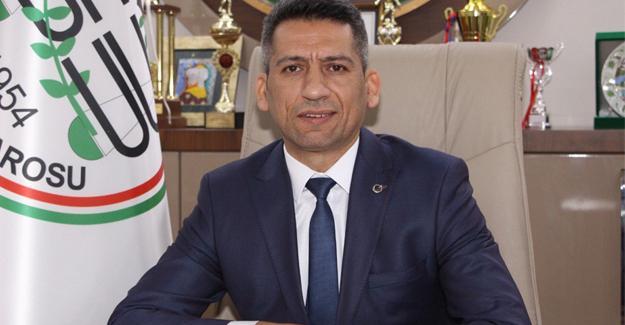 Başkan Abdurrahim Burak'tan bayram mesajı