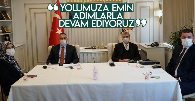 Başkan Tever, İl Başkanları Toplantısını değerlendirdi