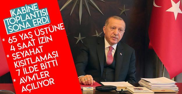 Cumhurbaşkanı Erdoğan kabine toplantısı sonrası açıklamalarda bulundu