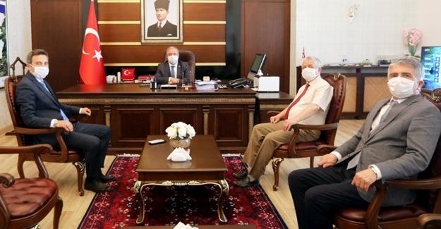 DSİ'nin yeni Bölge Müdürü'nden Vali Nayir'e ziyaret