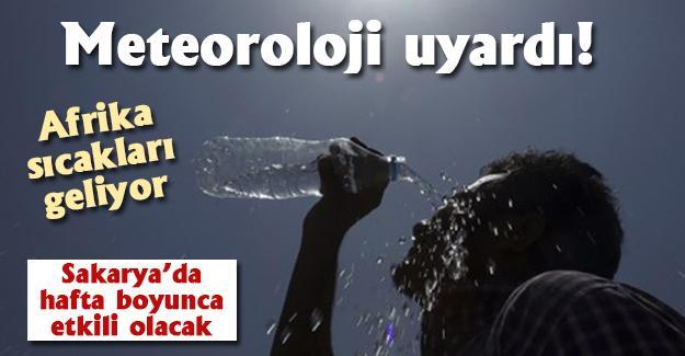 Meteoroloji uyardı! Afrika sıcakları geliyor