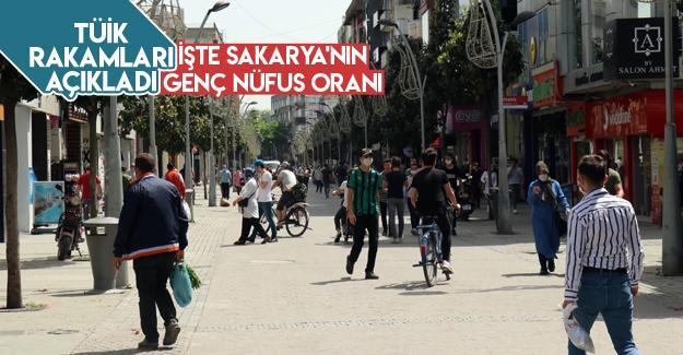 Sakarya'nın genç nüfus oranı açıklandı!