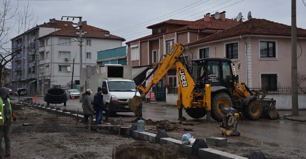 Şehit Astsubay Yaşar Güller Caddesi'nde altyapı tamam