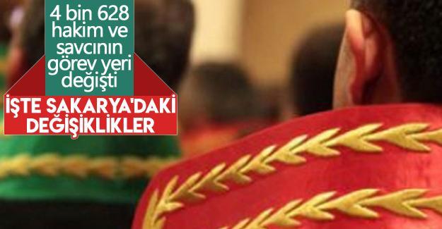 4 bin 628 hakim ve savcının görev yeri değişti