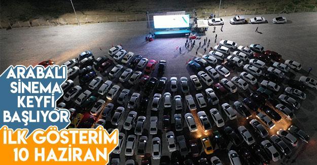 Arabalı sinema keyfi başlıyor