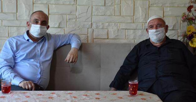 Başkan Fevzi Kılıç'tan babalar günü ziyaretleri