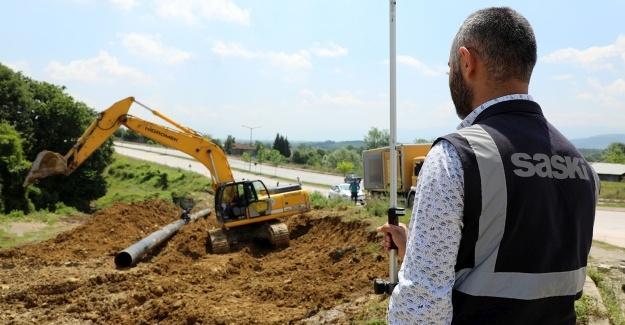 Camili'de çelik hat ile su kesintisiz akacak