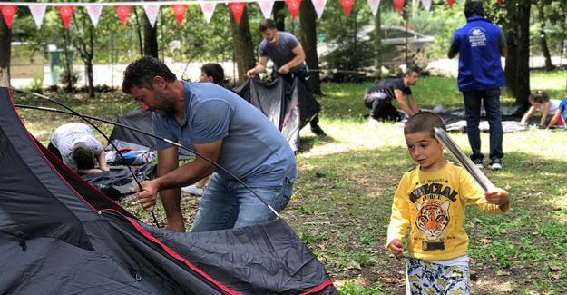 Gençlik Spor Müdürlüğünden sağlıkçılara moral kampı