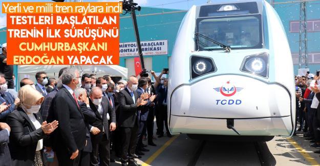 İlk sürüşü Cumhurbaşkanı Erdoğan yapacak