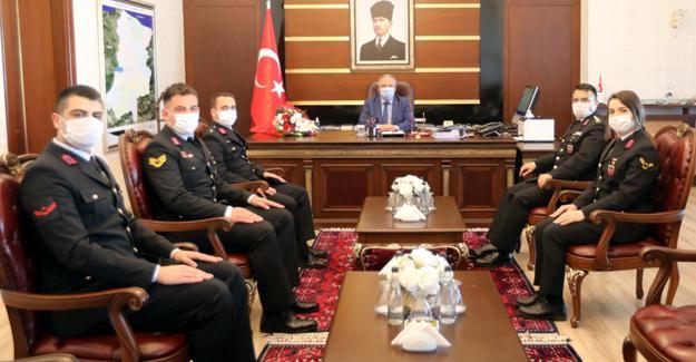 Jandarma Teşkilatından Vali Nayir'e ziyaret