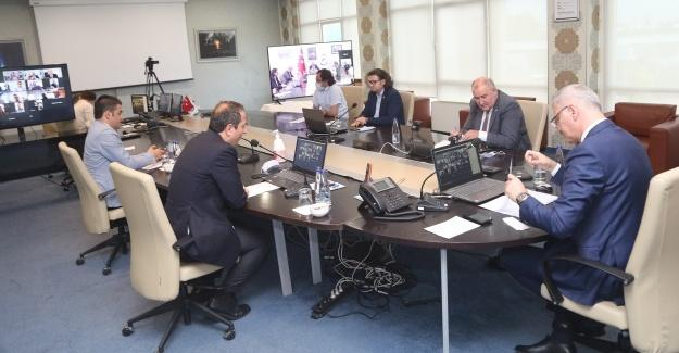 Komisyon başkanları çalışmalarını paylaştı