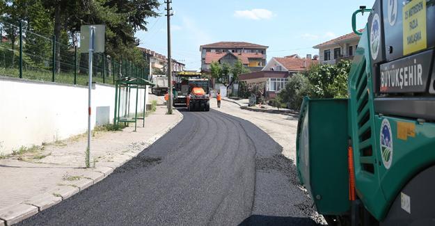 Maltepe Caddesi yenileniyor