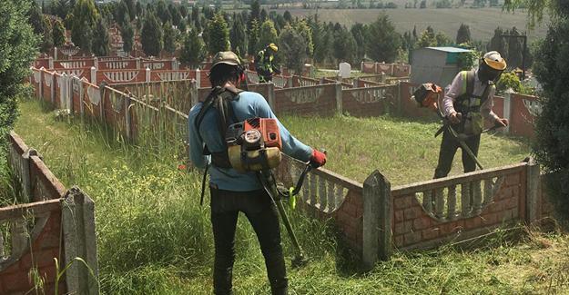 Mezarlıklarda kapsamlı çalışma