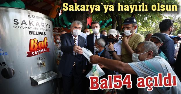 Sakarya'ya hayırlı olsun! Bal54'ün açılışı yapıldı