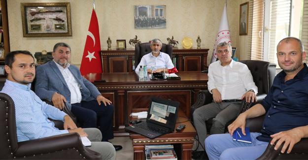 Yıldırım'dan Özsoy'a ziyaret