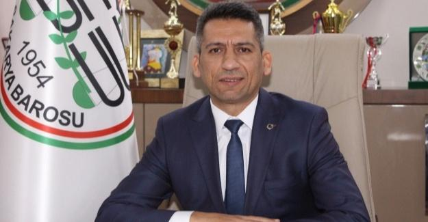 Baro Başkanı Burak'tan Kurban Bayramı mesajı