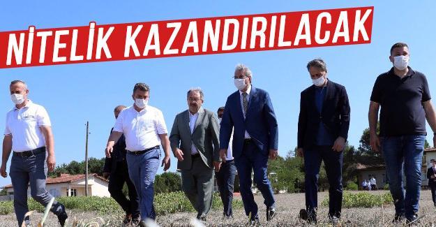 Başkan Ekrem Yüce, Başkan Alemdar'la tesisi gezdi