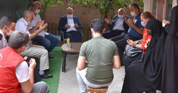 Başkan Kılıç'tan 15 Temmuz gazilerine ziyaret