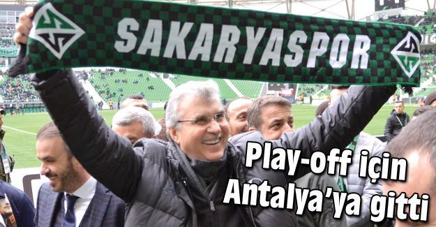 Başkan Yüce Antalya'ya gitti