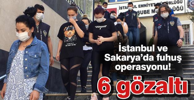Fuhuş operasyonu! 6 gözaltı