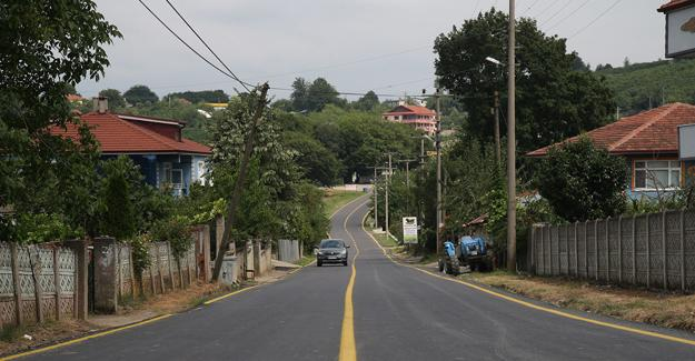 Kocaali'de asfalt çalışmalarının ilk etabı tamamlandı