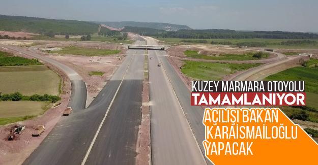 Kuzey Marmara Otoyolu tamamlanıyor