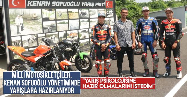 Milli motosikletçiler, Kenan Sofuoğlu yönetiminde yarışlara hazırlanıyor