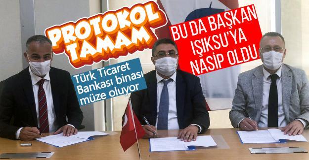 Türk Ticaret Bankası binası müze oluyor