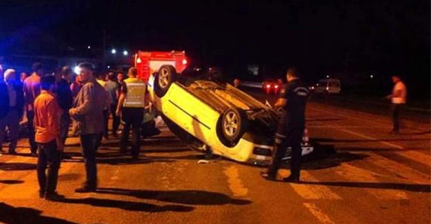 4 ayrı trafik kazasında 7 kişi yaralandı