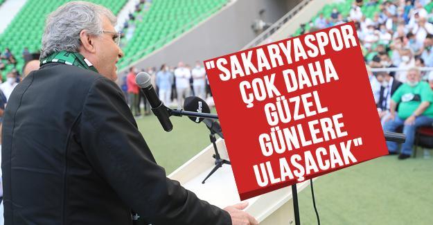 Başkan Yüce Sakaryaspor kongresine katıldı