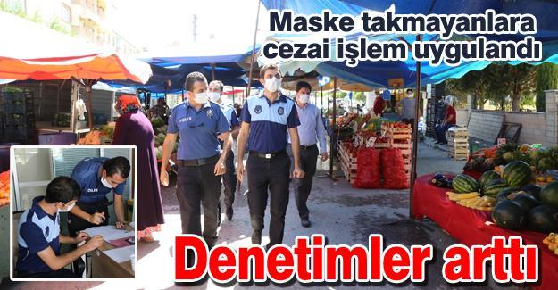 Maske takmayanlara cezai işlem uygulandı!