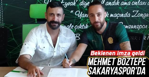 Mehmet Boztepe Sakaryaspor'da!