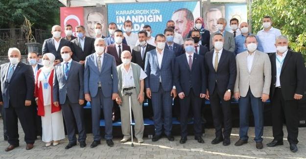 AK Parti Karapürçek İlçe Kongresi yapıldı