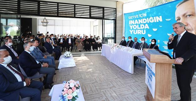 AK Parti Geyve İlçe Kongresi yapıldı