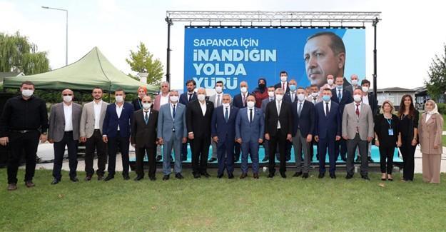 AK Parti Sapanca Gümüşel ile devam